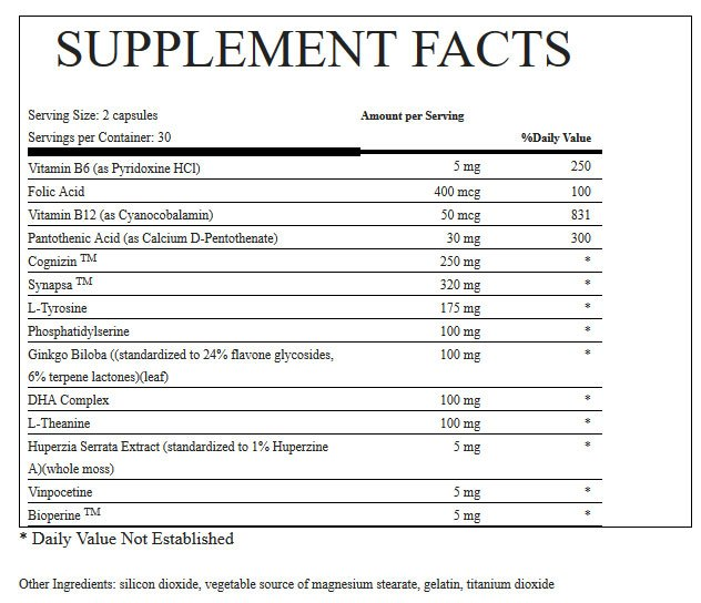 BrainPill-supplement-Facts-memory-retention-review