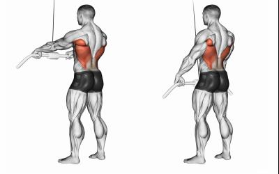 Standing-Pulldowns