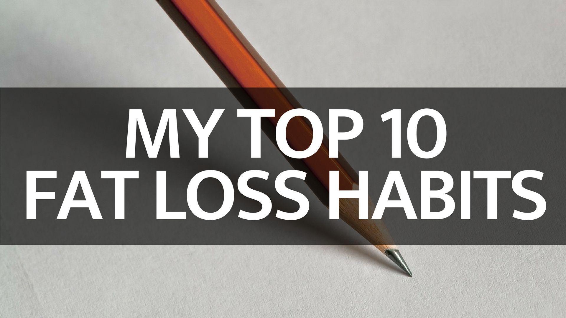 Top-10-Weight-Loss-Habits