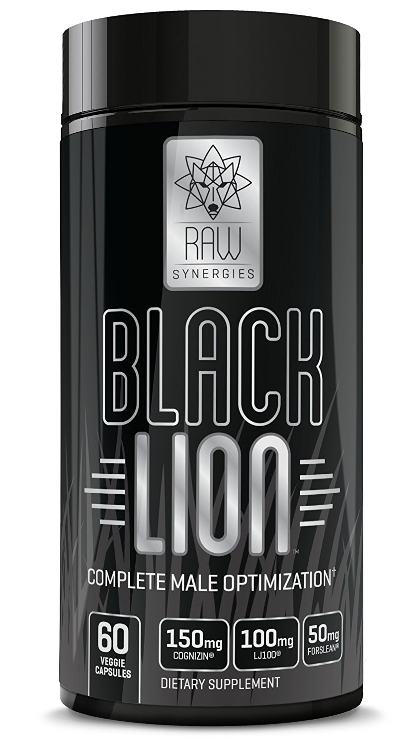 RAW Synergies Black Lion – Thermogenic Testosterone